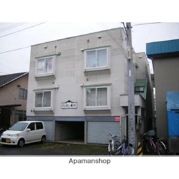 北海道札幌市北区、新川駅徒歩4分の築24年 3階建の賃貸アパート