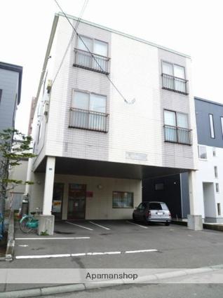 北海道札幌市東区、栄町駅徒歩5分の築26年 3階建の賃貸アパート