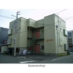 北海道札幌市北区、新川駅徒歩15分の築26年 2階建の賃貸アパート