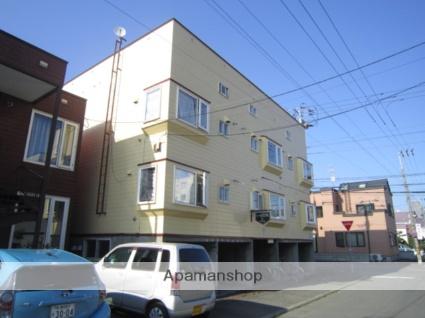 北海道札幌市北区、麻生駅徒歩19分の築26年 2階建の賃貸アパート