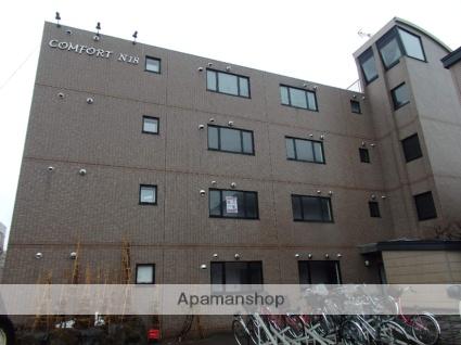 北海道札幌市北区、北24条駅徒歩13分の築15年 4階建の賃貸マンション