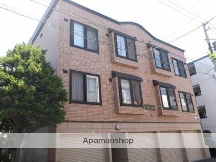北海道札幌市北区、麻生駅徒歩19分の築12年 3階建の賃貸アパート