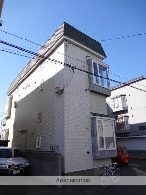 北海道札幌市北区、新川駅徒歩9分の築25年 2階建の賃貸アパート