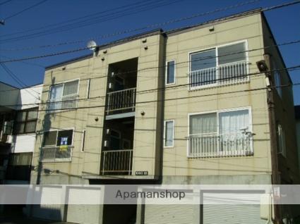 北海道札幌市東区、栄町駅徒歩19分の築21年 3階建の賃貸アパート