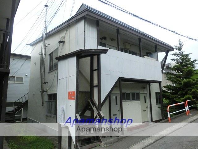 北海道小樽市、小樽駅徒歩16分の築50年 2階建の賃貸アパート