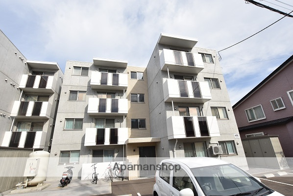 北海道小樽市、南小樽駅徒歩16分の新築 4階建の賃貸マンション