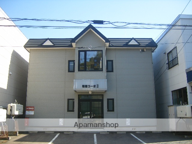 北海道小樽市、小樽駅徒歩11分の築19年 2階建の賃貸アパート