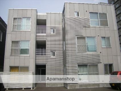 北海道札幌市北区、麻生駅徒歩4分の築13年 3階建の賃貸マンション