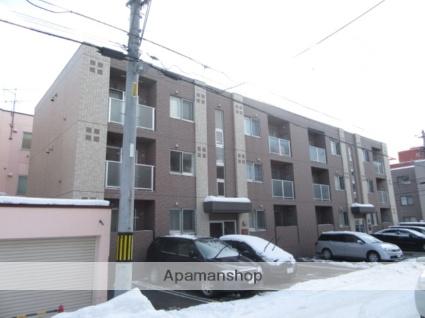 北海道札幌市北区、新琴似駅徒歩15分の築8年 3階建の賃貸マンション
