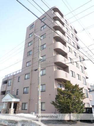 北海道札幌市東区、環状通東駅徒歩16分の築20年 8階建の賃貸マンション