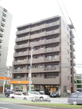 北海道札幌市東区、栄町駅徒歩12分の築21年 8階建の賃貸マンション