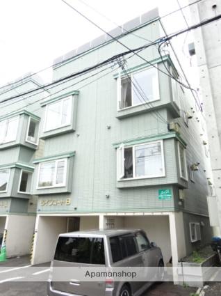 北海道札幌市北区、新琴似駅徒歩11分の築19年 3階建の賃貸アパート