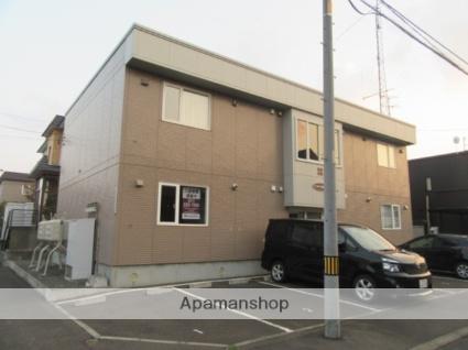 北海道札幌市北区、新琴似駅徒歩7分の築14年 2階建の賃貸アパート