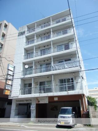 北海道札幌市東区、札幌駅徒歩8分の築30年 6階建の賃貸マンション