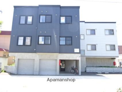 北海道札幌市北区、百合が原駅徒歩19分の築9年 3階建の賃貸アパート