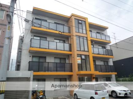 北海道札幌市北区、新琴似駅徒歩7分の築10年 4階建の賃貸マンション