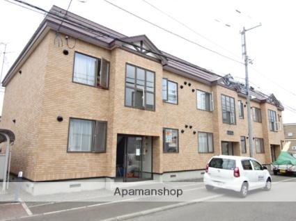 北海道札幌市北区、新琴似駅中央バスバス11分屯田5−7下車後徒歩4分の築13年 2階建の賃貸アパート