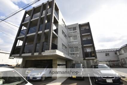 北海道札幌市北区、新琴似駅徒歩19分の築1年 4階建の賃貸マンション