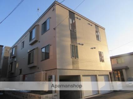 北海道札幌市北区、八軒駅徒歩17分の新築 3階建の賃貸アパート