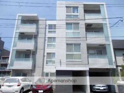 北海道札幌市北区、札幌駅徒歩8分の新築 4階建の賃貸マンション