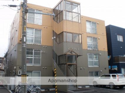 北海道札幌市東区、新道東駅徒歩7分の築20年 4階建の賃貸マンション