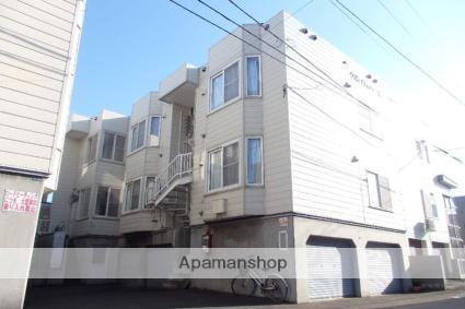 北海道札幌市北区、八軒駅徒歩18分の築27年 2階建の賃貸アパート