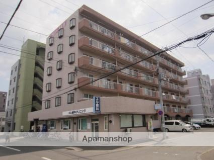 北海道札幌市東区、新道東駅徒歩18分の築29年 6階建の賃貸マンション