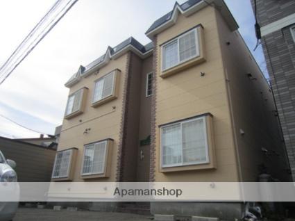 北海道札幌市北区、八軒駅徒歩13分の築24年 2階建の賃貸アパート