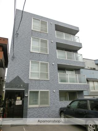 北海道札幌市東区、北24条駅徒歩12分の築17年 4階建の賃貸マンション