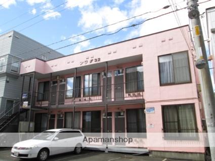 北海道札幌市北区、麻生駅徒歩15分の築34年 2階建の賃貸アパート