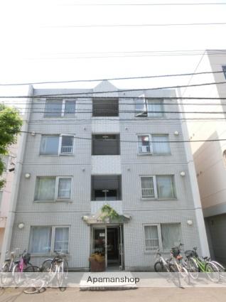 北海道札幌市北区、北24条駅徒歩12分の築27年 4階建の賃貸マンション