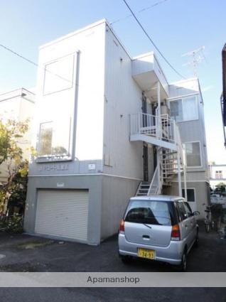 北海道札幌市東区、苗穂駅徒歩6分の築22年 3階建の賃貸アパート