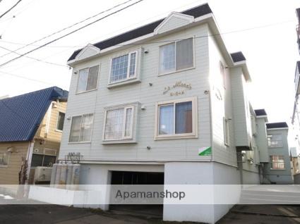 北海道札幌市北区、北24条駅徒歩5分の築29年 3階建の賃貸アパート