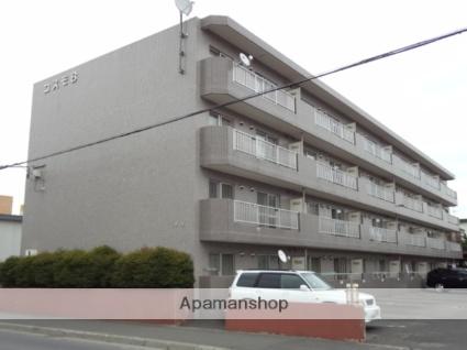 北海道札幌市東区、元町駅中央バスバス10分東苗穂3−2下車後徒歩5分の築22年 4階建の賃貸マンション