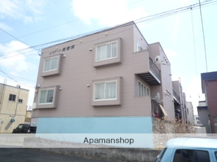 北海道札幌市東区、北24条駅徒歩20分の築24年 3階建の賃貸アパート