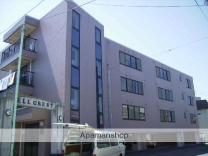 北海道札幌市東区、環状通東駅徒歩12分の築22年 4階建の賃貸マンション