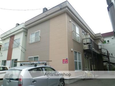 北海道札幌市東区、栄町駅バスバス7分北31東15下車後徒歩7分の築29年 2階建の賃貸アパート