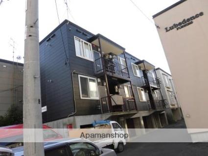 北海道札幌市東区、新道東駅徒歩38分の築29年 3階建の賃貸アパート
