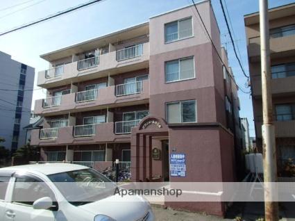 北海道札幌市東区、札幌駅徒歩15分の築30年 4階建の賃貸マンション