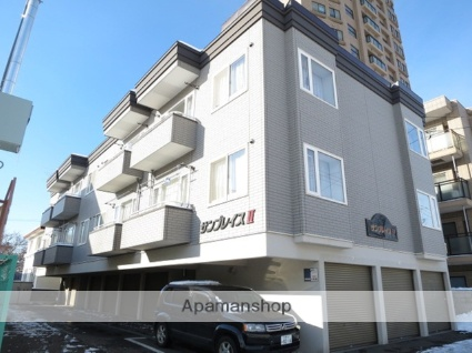 北海道札幌市北区、麻生駅徒歩14分の築20年 2階建の賃貸アパート