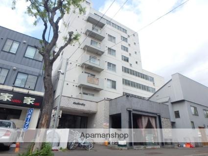 北海道札幌市北区、北18条駅徒歩5分の築33年 9階建の賃貸マンション