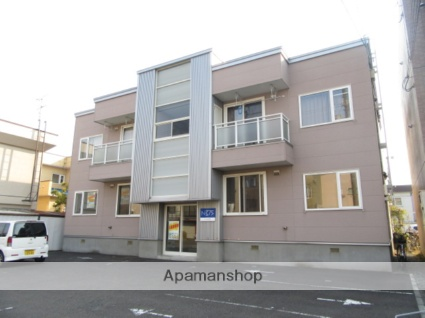 北海道札幌市東区、麻生駅徒歩17分の築13年 2階建の賃貸アパート