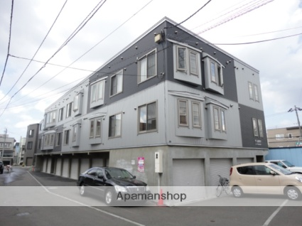 北海道札幌市東区、環状通東駅徒歩7分の築11年 3階建の賃貸アパート