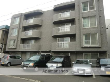 北海道札幌市北区、北24条駅徒歩7分の築18年 4階建の賃貸マンション