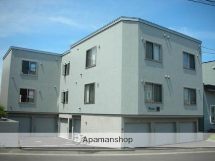 北海道札幌市西区、琴似駅徒歩14分の築10年 3階建の賃貸アパート
