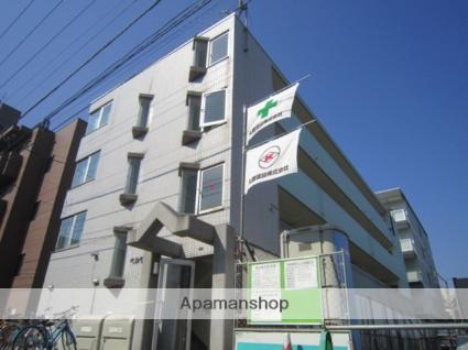 北海道札幌市北区、北18条駅徒歩5分の築27年 4階建の賃貸マンション
