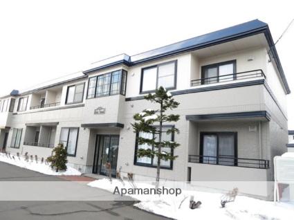 北海道札幌市北区、新川駅徒歩9分の築22年 2階建の賃貸アパート