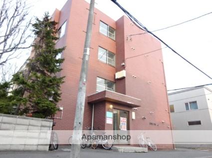 北海道札幌市東区、北34条駅徒歩10分の築28年 4階建の賃貸マンション