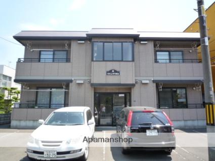 北海道札幌市北区、新琴似駅徒歩12分の築17年 2階建の賃貸アパート