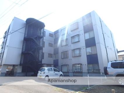 北海道札幌市東区、北12条駅徒歩14分の築28年 4階建の賃貸マンション